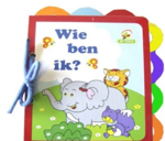 """Afbeeldingen van Houten boekje puzzel: Wie ben ik """"wilde dieren"""""""