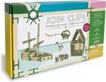 Afbeeldingen van Home Edition 40 bouwplankjes als Kapla met 200Join Clips