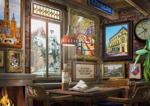 Bild von Puzzel Utrechts cafe 1000 stukjes