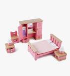 Afbeeldingen van Poppenhuis meubels Slaapkamer