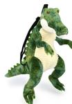 Afbeeldingen van Kinder-rugzak pluche Krokodil groen