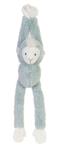 Afbeeldingen van Hangende aap blauw Muziekknuffel Happy Horse