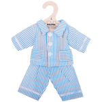 Afbeeldingen van Poppenkleding Pyjama blauw (L) 35cm Bigjigs