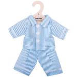 Bild von Poppenkleding Pyjama blauw (L) 35cm Bigjigs