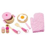 Afbeeldingen van Kookset prinses roze