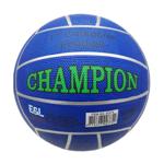 Afbeeldingen van Voetbal rubber Champion Blauw 380 gram