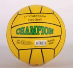 Afbeeldingen van Voetbal rubber Champion Geel 380 gram