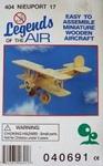 Afbeeldingen van Bouwpakket Vliegtuig Nieuport 404