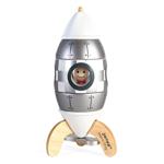 Afbeeldingen van Raket zilver magneet raket