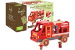 Afbeeldingen van Joueco - Vormenstoof brandweerauto -