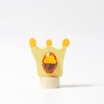 Afbeeldingen van Decoratie steker jaarring kroon Grimm's