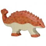 Bild von Ankylosaurus dino Holztiger