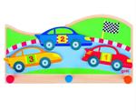 Bild von Kapstok race auto's 3 haken