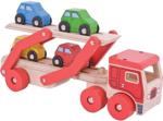 Afbeeldingen van Auto transporter met 4 autootjes