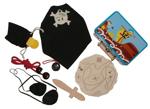 Bild von Piratenset in blikken koffertje