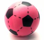 Afbeeldingen van Voetbal foam roze 20 cm