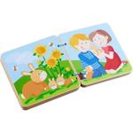 Afbeeldingen van Houten boekje Dierenkinderen