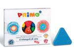 Bild von Driehoek waskrijt 6 kleuren Primo
