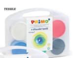 Bild von Vingerverf Textiel 6 kleuren  100 gr in koffertje Primo
