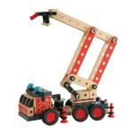 Afbeeldingen van Brio Builder Brandweerauto constructieset