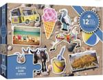 Afbeeldingen van Puzzel 50+ Samen Het Strand - 12 stukjes