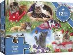 Afbeeldingen van Puzzel 50+ Katten - 12 stukjes