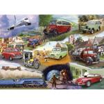 Afbeeldingen van Puzzel 50+ Transport Voertuigen - 24 stukjes
