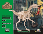 Bild von 3d puzzel Ornithomimus Dinosaurus