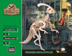 Bild von 3d puzzel parasaurolophus dinosaurus