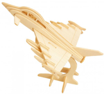 Bild von 3d puzzel straaljager