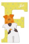 Afbeeldingen van Sevi dierenletter nieuw (F) fox