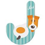 Afbeeldingen van Sevi dierenletter nieuw (J) Jachthond
