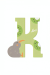 Bild von Sevi dierenletter nieuw (K) kiwi