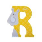 Afbeeldingen van Sevi dierenletter nieuw (R) neushoon