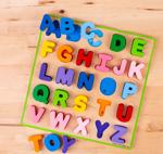Afbeeldingen van Puzzel Alfabet Hoofdletters Bigjigs