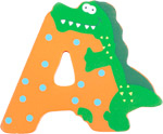 Bild von Houten dieren letter A