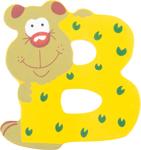 Picture of Houten dieren letter B