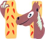 Bild von Houten dieren letter H