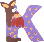 Bild von Houten dieren letter K
