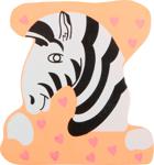 Bild von Houten dieren letter Z