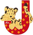 Afbeeldingen van Sevi dierenletter (J ) Jaguar