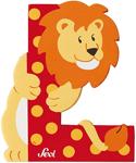 Afbeeldingen van Sevi dierenletter (L ) Leeuw
