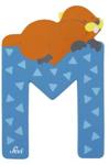 Afbeeldingen van Sevi dierenletter (M ) Marmot