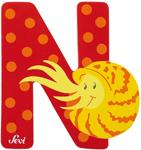 Afbeeldingen van Sevi dierenletter (N) Nautilus