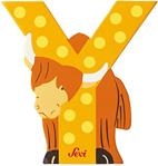 Afbeeldingen van Sevi dierenletter (Y) Yak