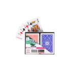 Afbeeldingen van Speelkaarten 2 stokken geplastificeerd