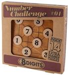 """Afbeeldingen van Cijferwedstrijd """"8 digits"""" Professor puzzle"""