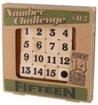 """Afbeeldingen van Cijferwedstrijd """"The Fifteen"""" Professor puzzle"""
