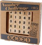 """Afbeeldingen van Cijferwedstrijd """"54321"""" Professor puzzle"""