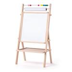 Afbeeldingen van Staand schoolbord met papier rol